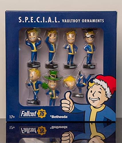 Fallout 76 S.P.E.C.I.A.L. Vault Boy Christmas Holiday Ornaments