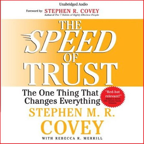 Couverture de The Speed of Trust
