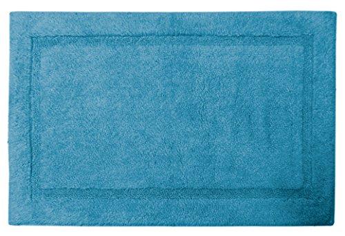 Gelco Design 711042 Tapis de Bain, Coton, Bleu, 90 x 60 x 0,75 cm