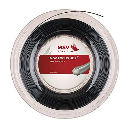 MSV Saitenrolle Focus-HEX, Schwarz, 1.18mm, 0355000126800005
