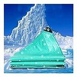 GGYMEI Lonas Impermeables Exterior Lona Gruesa Al Aire Libre Protector Solar Resistente Al Desgarro PE Lluvia Paño Portátil, Se Puede Personalizar (Color : Green, Size : 200x300cm)