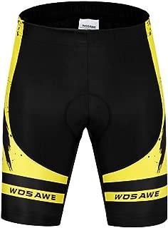 MagiDeal Professional Men's Cycling Shorts Padded Bicycle Riding Pants Bike Biking Cycle Wear Tights S-XXL