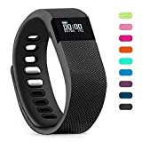 Teslasz Fitness Tracker, Sleep Monitor Calorie Counter Pedometer Sport Activity Tracker for Android and iOS Smart Phone (Black)