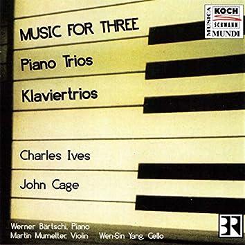 Music for three - Piano Trios