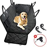 Dog Back Seat Cover, Waterproof Pet Back Seat Covers Pet car Back seat Cover Car Backseat Cover for Pet Seat Dog Puppy Supplies Hammock Travel Carrier car Dog pet Carrier and Truck SUVs