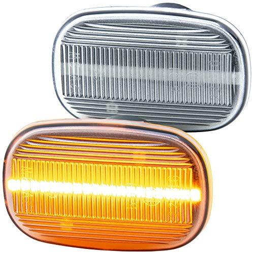 rm-style LED SEITENBLINKER kompatibel für MR2 II | Paseo Coupe | Prius | KLARGLAS [7732]
