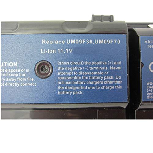 7xinbox UM09F70 UM09F36 Ersatz Laptop Akku für ACER Aspire 1420P 1820PT 1820PTZ 1820PTZ-734G32N 1820TP 1825 1825PT LC32SD128 LCS32SD128 (6 Zellen)