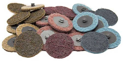 """2"""" Roloc Surface Conditioning Quick Change Sanding Discs Coarse - 25 Pack"""