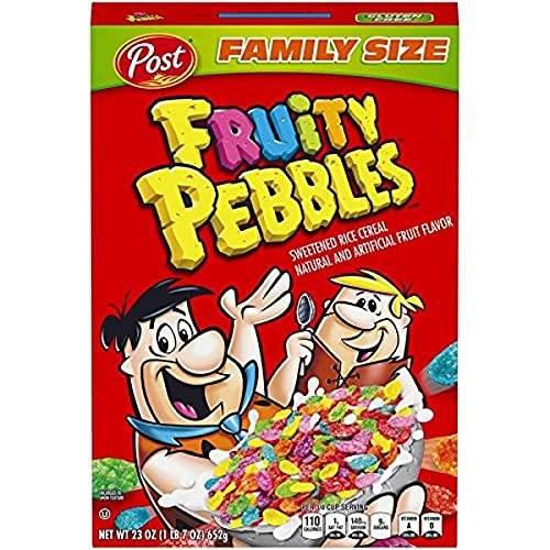 Post Fruity Pebbles Gluten Free Cereal