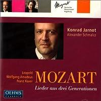 Leopold Mozart / Wolfgang Amadeus Mozart / Franz Xaver Mozart: Lieder from Three Generations by Konrad Jarnot (2013-08-05)