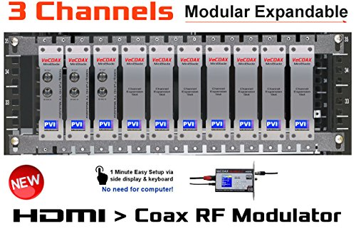 Best Review Of 3 Channel HDMI Modulator - VECOAX Blade 3 - HDMI Video Distribution Over TV Coax Cabl...
