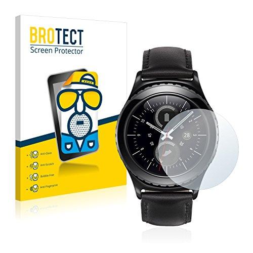 BROTECT 2X Entspiegelungs-Schutzfolie kompatibel mit Samsung Gear S2 Classic Bildschirmschutz-Folie Matt, Anti-Reflex, Anti-Fingerprint
