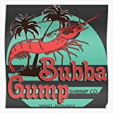 Hanks Movie Cinema Tom Forrest Gump Film Bubba Shrimp The Most Impressive and Stylish Indoor Decoration Poster Available Trending Now