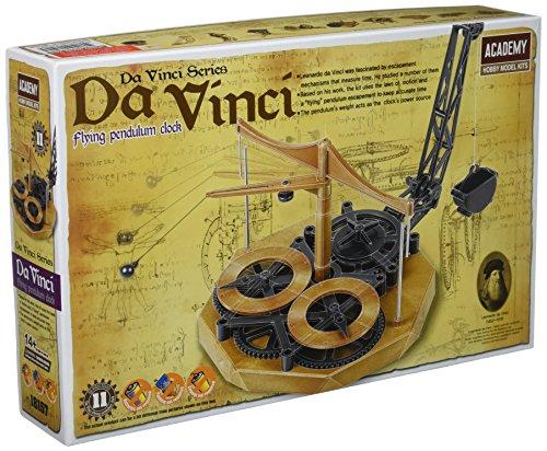 Academy Da Vinci Machinen-Reihe, Pendeluhr mit fliegendem Pendel, Nr. 18157