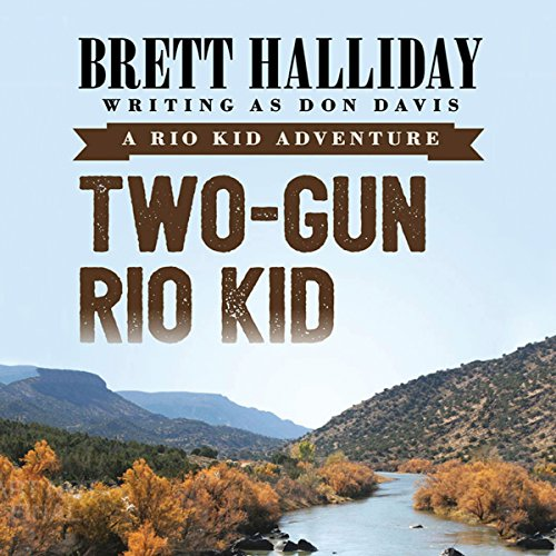 Two-Gun Rio Kid audiobook cover art