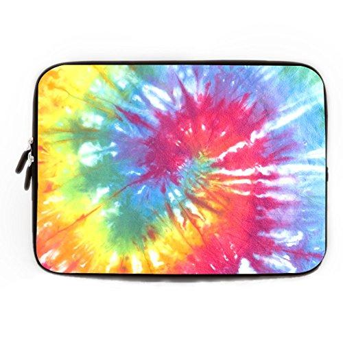 Laptop Ärmeln Tie Dye, Laptop Ärmel Tie Dye, MacBook Fall, Notebook Ärmel, Reißverschluss Computer Sleeve, Geschenk für sie, 25,4cm 30,5cm 33cm 38,1cm 43,2cm, Pattern5, 43,18 cm