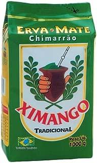 Ximango Yerba Mate - 35.27 Oz | Erva-Mate para Chimarrão Ximango - 1kg - (PACK OF 06)