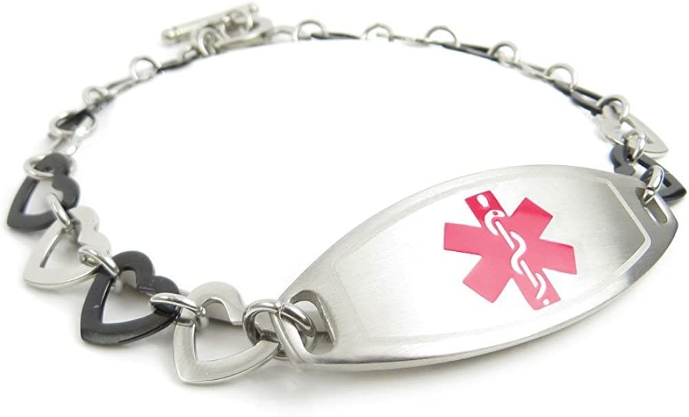 My Identity Doctor - Customized Pre-Engraved Quantity limited Fibromyalgia Free Shipping New Medi