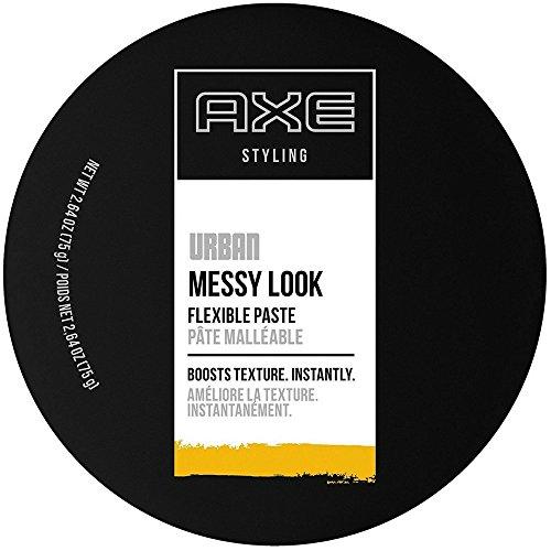 AXE Messy Look Hair Paste, Flexible 2.64 oz (Pack of 3)