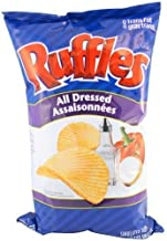Lay's Ruffles Potato Chips, All Dressed, 220 Grams/7.73 Ounces