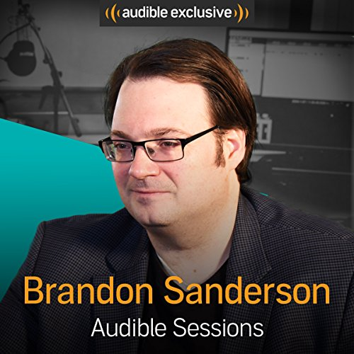 Brandon Sanderson audiobook cover art