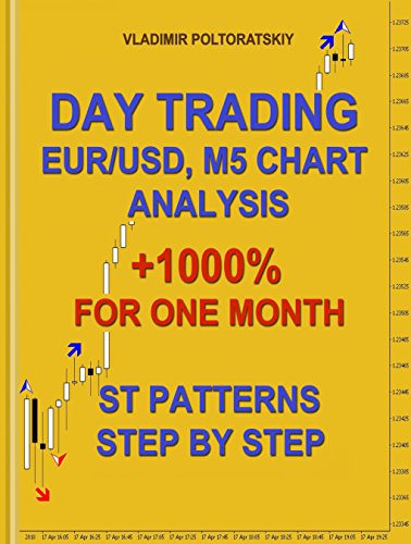 Day Trading EUR/USD, M5 Chart Analysis +1000{d59ab855cb9734cbb455fac23b01182ccf8d20aba1e8bcca7fd16ef3597acb39} for One Month ST Patterns Step by Step (Forex Trading System, Futures, CFD, Bitcoin, Stocks, Commodities Book 4) (English Edition)