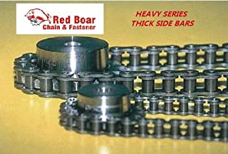 #100H Riveted Roller Chain 10ft With 1 Connecting Link 1.25