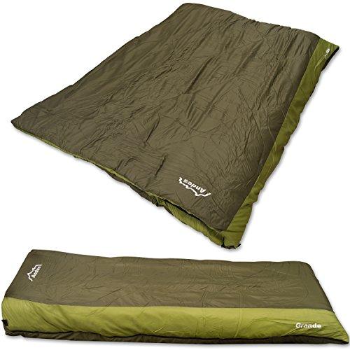 Andes Grande Single 4+ Season Sleeping Bag 700g Filling QUAD Layer ULTRA Warm