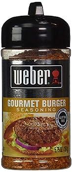 Weber Gourmet Burger Seasoning Beef Beef 6 Oz 2 Tsp