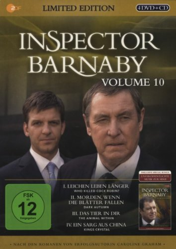 Inspector Barnaby, Vol.10 (Limited Edition im Geschenk-Schuber) (4 DVDs)