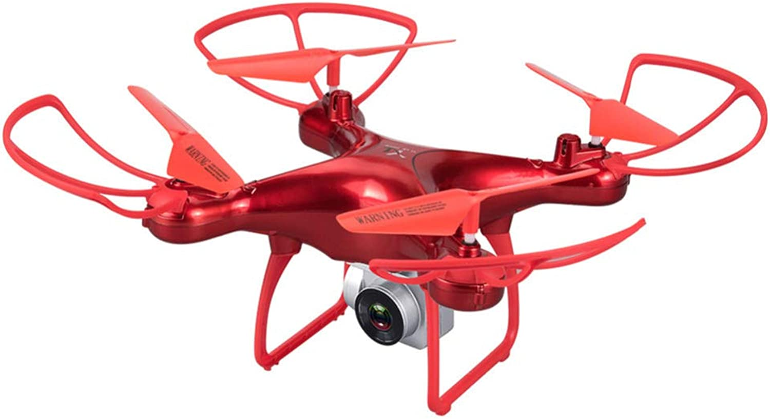ASQXYFCT Ultra Long Battery Uav 20 Minutes Aerial Pressure Fixed Height Remote Control Aircraft FourAxis Aircraft Toy,Red,WRJ