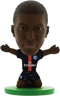 SoccerStarz SOC1199 Paris St Germain Kylian Mbappe-Home Kit (2019 Version) /Figures, Green