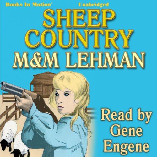 Sheep Country audiobook cover art