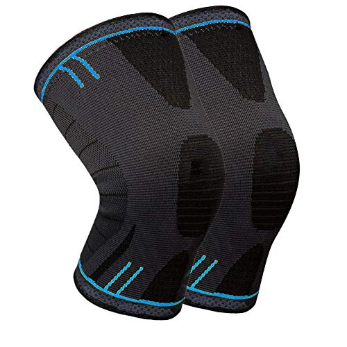 Knee Support Brace - Premium Recovery & Compression Sleeve for Running, Basketball, Weightlifting, Gym, Workout, Sports – Please Check Sizing Chart