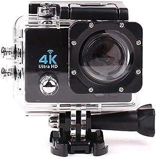 كاميرا اكشن رياضية فل اتش دي بدقة 4 كيه مع واي فاي اتش دي ام اي 1080 بكسل، بشاشة ال سي دي 2 بوصة، مضادة للماء، للاستخدام ا...