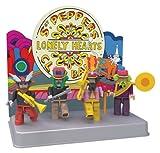 Juego de Mini-figuras The Beatles Sgt. Pepper