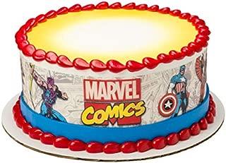 Marvel Avengers Comics Superhero Edible Cake Border - Set of 3 Strips
