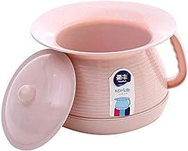 Healifty inodoros port/átiles pl/ásticos ollas de orina con tapas cubos de orina orinales para ni/ños adultos mujeres embarazadas