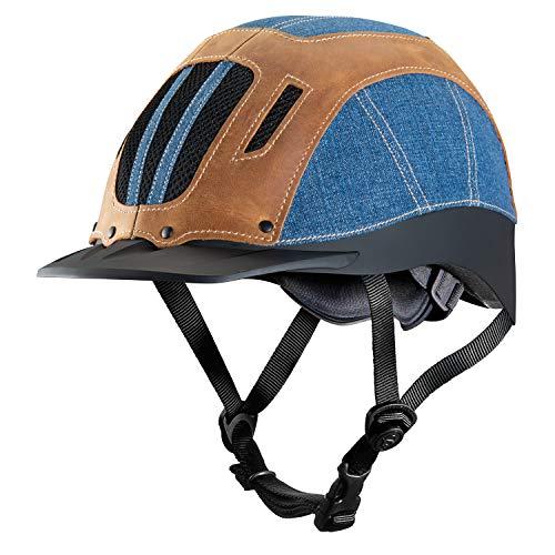 Troxel Sierra Horseback Riding Helmet, Denim, Small (6 5/8-7)