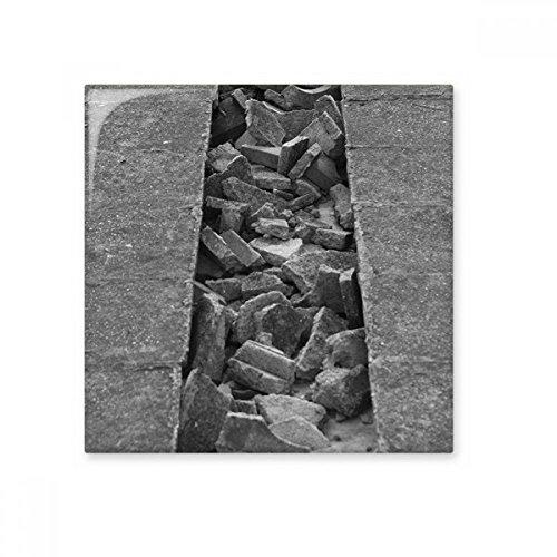 DIYthinker Materiales Industriales Fotografía Modelado brillante baldosa cerámica de baño Cocina muro de piedra artesanal de regalo Decoración