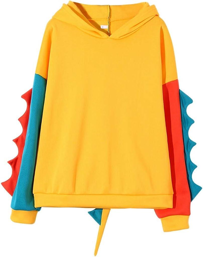 Womens Teens Hoodie Max 59% OFF Sweatshirt Cute Dinosaur Cartoon Shi Max 52% OFF Cosplay