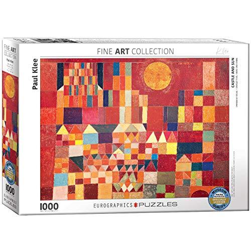 EuroGraphics 'Paul Klee Castello e Sole Puzzle (1000-Piece, Multi-Colour)