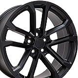 OE Wheels LLC 20 inch Rim Fits Camaro ZL1 Wheel CV19 20x8.5 Black Wheel Hollander 5547