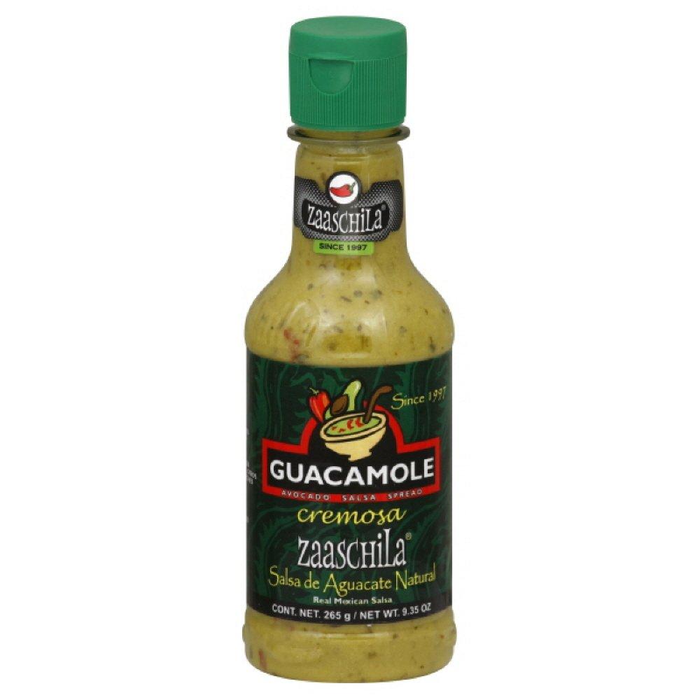 Zaaschilla Creamy Salsa Spread Guacamole of Pack 6 9.35-Ounce Max Spring new work 41% OFF