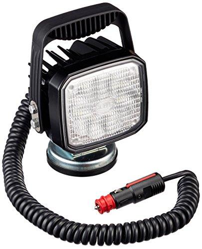 HELLA 1GA 995 506-111 Arbeitsscheinwerfer - Ultra Beam - LED - 12V/24V - 2200lm - Magnetbefestigung - stehend - Nahfeldausleuchtung - Kabel: 3500mm - Stecker: UNIVERSAL - Stecker: Rundstecker
