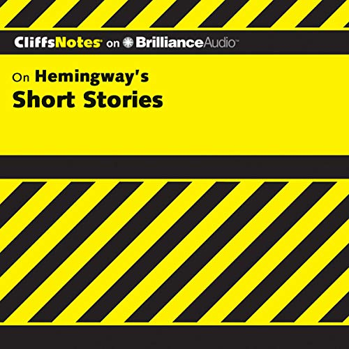 Page de couverture de Hemingway's Short Stories: CliffsNotes