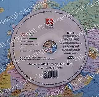 Rojo a2118270601 Mercedes Benz navegac/íon CD de actualizaci/ón 2016//2017/NTG 1/