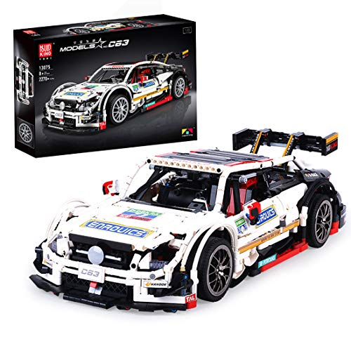 OIURV Technik Rennauto Bausatz für Merce-des C63, Racing Cars, 2270 klemmbausteine Bauset Kompatibel mit Lego...