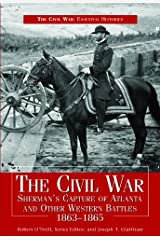 Civil War Sherman's Capture of Atlanta & Other Western Battles, 1863-1865 Encadernação para biblioteca