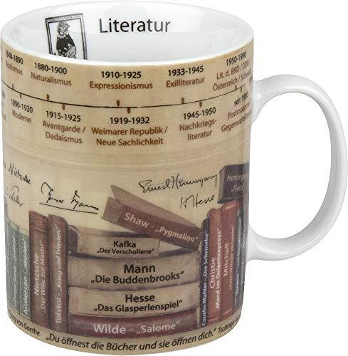 Könitz Kaffeebecher Wissensbecher (Literatur)